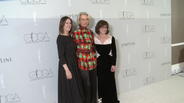joanna johnston sally field and kathleen kennedy at the 20th costume designers guild awards at the beverly hilton hotel on february 20 2018 in... - sally field stock videos & royalty-free footage