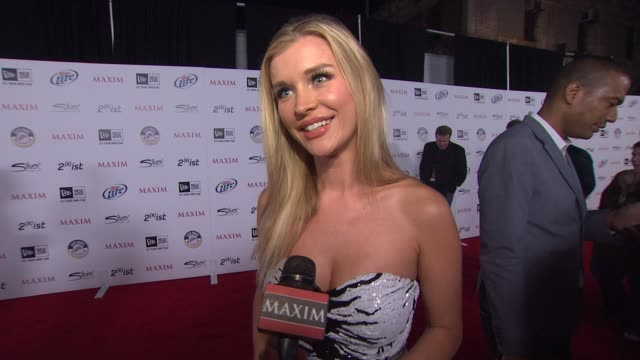 joanna krupa on how she found out she made the list this year, what it means to her to be on the list, what celebrities she is looking forward to... - list stock videos & royalty-free footage