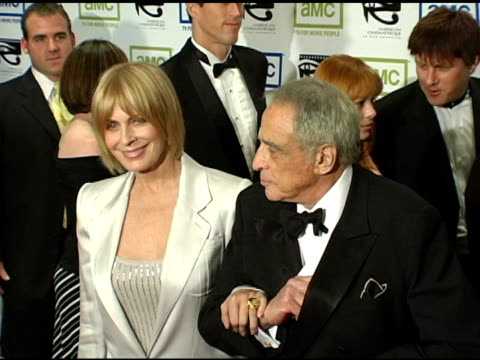 joanna lumley and stephen barlow at the 19th annual american cinematheque award honoring steve martin at the beverly hilton in beverly hills... - スティーブ マーティン点の映像素材/bロール