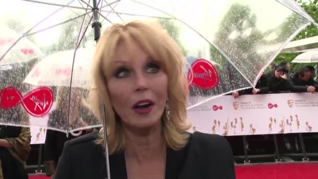 interview joanna lumley on joining the fellowship jennifer saunders and the future at the royal festival hall on may 14 2017 in london england - jennifer saunders stock videos & royalty-free footage
