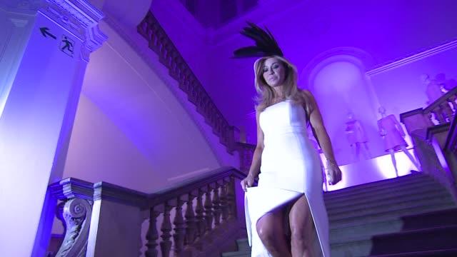 joanna przetakiewicz at royal academy of arts on february 16 2012 in london england - royal academy of arts bildbanksvideor och videomaterial från bakom kulisserna