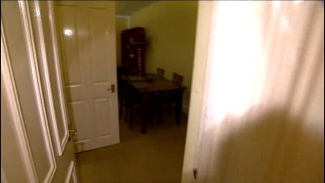 defendant Vincent Tabak gives evidence T12101103 19 SHOT along hallway and into lounge of Joanna Yeates' flat