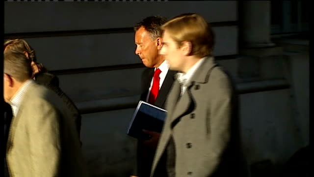 defendant vincent tabak gives evidence england bristol bristol crown court ext shots of teresa yeates and david yeates arriving at court with son... - defendant stock videos and b-roll footage