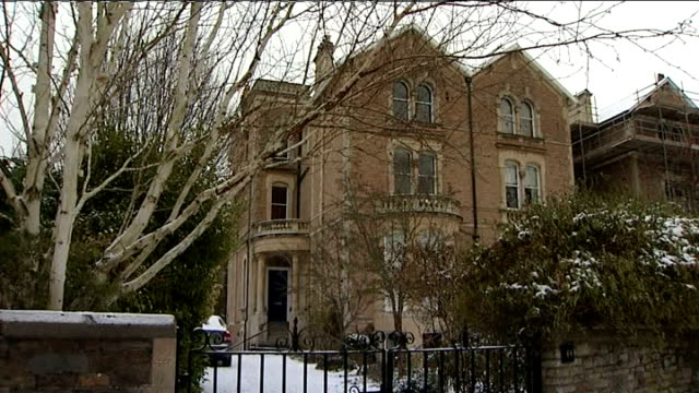 Vincent Tabak found guilty of murder December 2010 Clifton EXT Flat where Joanna Yeats lived snow on ground