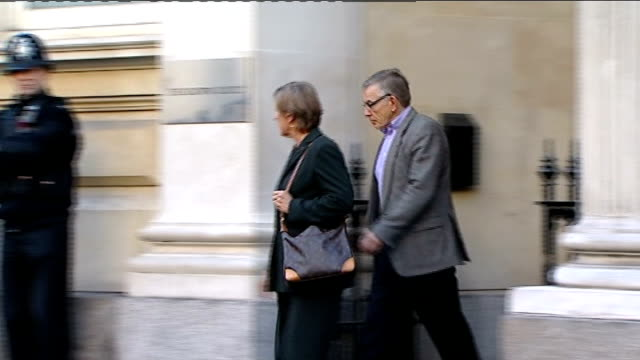 Vincent Tabak trial Prison chaplain gives evidence ENGLAND Bristol Bristol Crown Court EXT David Yeates and Teresa Yeates leaving court