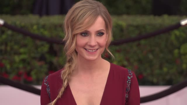 joanne froggatt at the 22nd annual screen actors guild awards - arrivals at the shrine auditorium on january 30, 2016 in los angeles, california. 4k... - shrine auditorium stock videos & royalty-free footage