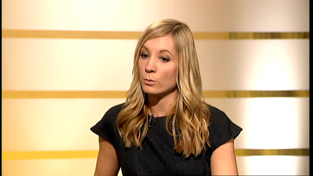 joanne froggatt interview froggatt interview sot - itv london tonight weekend stock videos & royalty-free footage