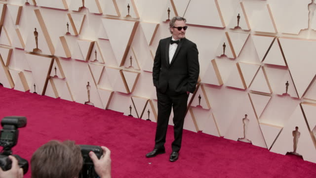joaquin phoenix at dolby theatre on february 09 2020 in hollywood california - joaquin phoenix stock videos & royalty-free footage