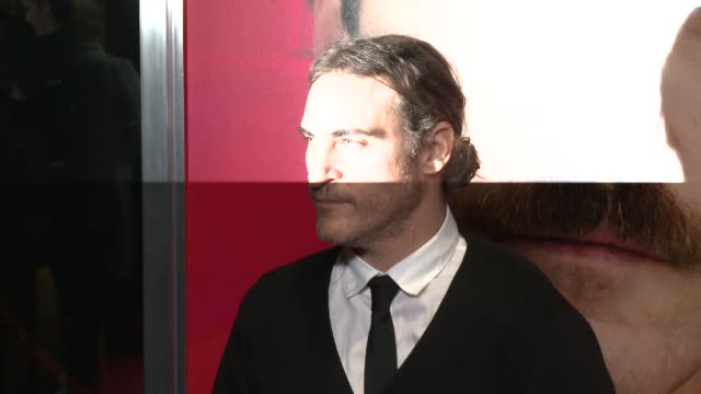 joaquin phoenix at her los angeles premiere in los angeles ca on - joaquin phoenix stock videos & royalty-free footage