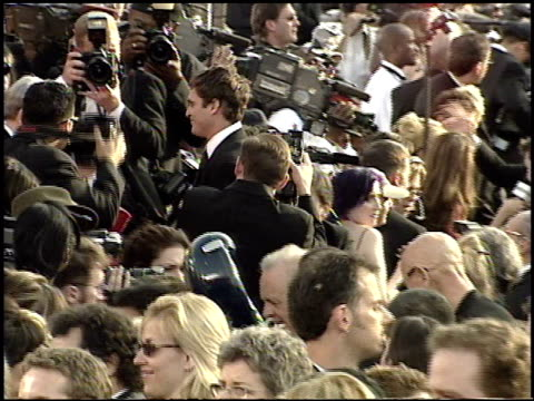 joaquin phoenix at the 2001 academy awards at the shrine auditorium in los angeles california on march 25 2001 - 73rd annual academy awards stock videos & royalty-free footage