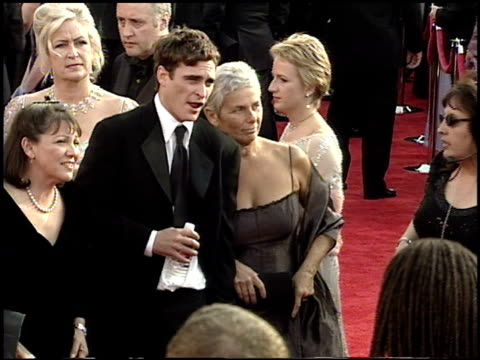 Joaquin Phoenix at the 2001 Academy Awards at the Shrine Auditorium in Los Angeles California on March 25 2001