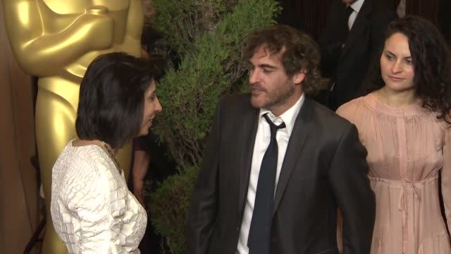 Joaquin Phoenix at the 85th Academy Awards Nominations Luncheon in Beverly Hills CA on 2/4/13