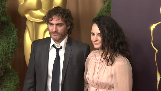 joaquin phoenix at the 85th academy awards nominations luncheon in beverly hills ca on 2/4/13 - joaquin phoenix stock videos & royalty-free footage