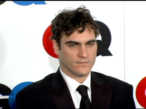 Joaquin Phoenix at the GQ's 2005 'Men of the Year' Celebration at Mr Chow Beverly Hills in Beverly Hills California on December 2 2005
