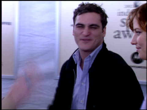 Joaquin Phoenix at the Independent Spirit Awards on March 23 2002