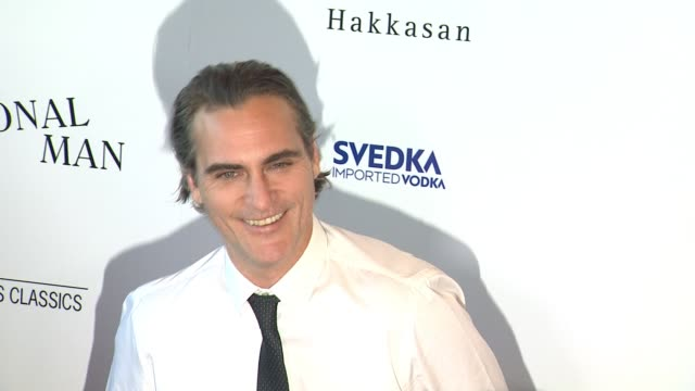 joaquin phoenix at the irrational man los angeles premiere at the wga theater on july 09 2015 in beverly hills california - joaquin phoenix stock videos & royalty-free footage
