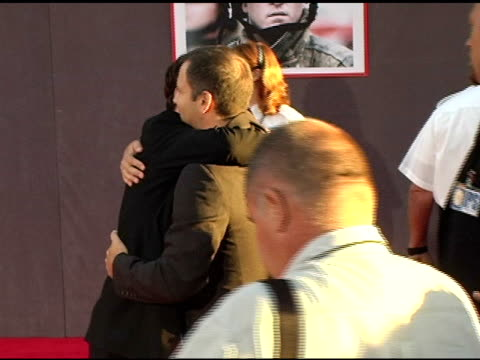 joaquin phoenix at the 'ladder 49' premiere at the el capitan theatre in hollywood california on september 21 2004 - joaquin phoenix stock videos & royalty-free footage