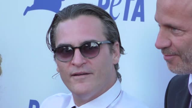 Joaquin Phoenix at the PETA's 35th Anniversary Party at Hollywood Palladium in Hollywood at Celebrity Sightings in Los Angeles on September 30 2015...