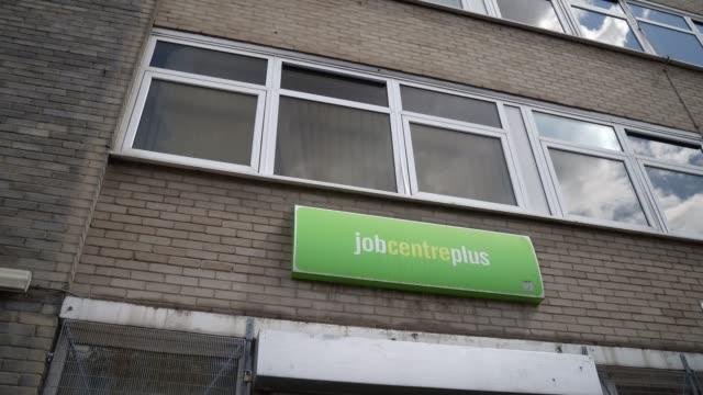 GBR: UK - Unemployment - Job Centre Plus in London