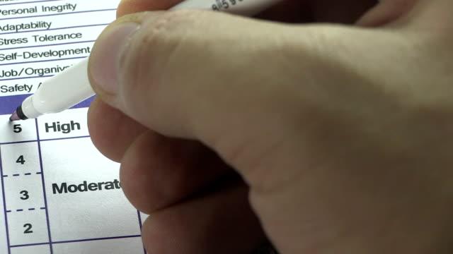vídeos y material grabado en eventos de stock de tarea de competencia - currículum vitae