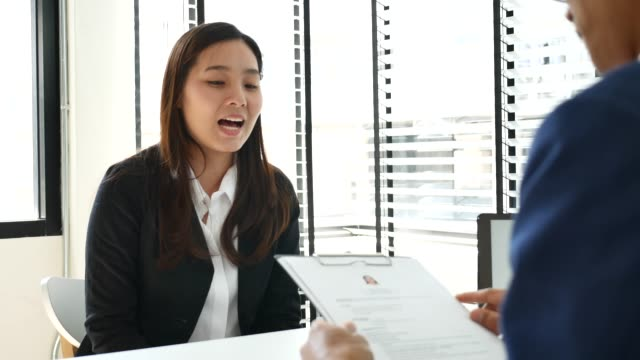 job interview - job interview stock videos & royalty-free footage
