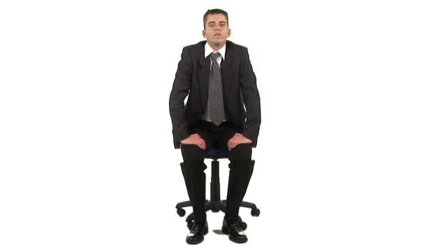 hd: job interview - one man only stock videos & royalty-free footage