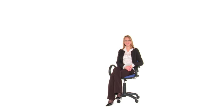 hd: job interview - chair stock videos & royalty-free footage
