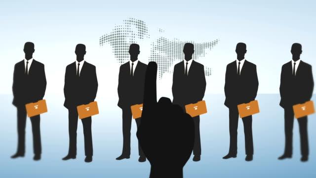 vidéos et rushes de l'offre d'emploi - recrue