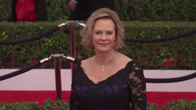 jobeth williams at the 22nd annual screen actors guild awards - arrivals at the shrine auditorium on january 30, 2016 in los angeles, california. 4k... - shrine auditorium stock videos & royalty-free footage