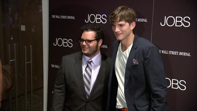 CLEAN 'Jobs' New York Premiere Arrivals at MOMA on August 07 2013 in New York New York