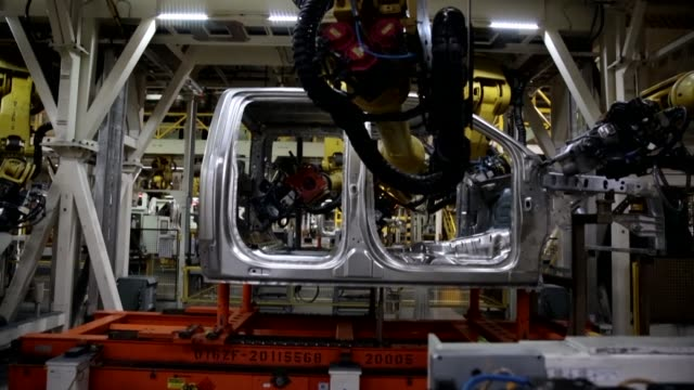 7000 jobs or 10 percent of ford's global workforce is to be cut - dearborn michigan stock videos and b-roll footage