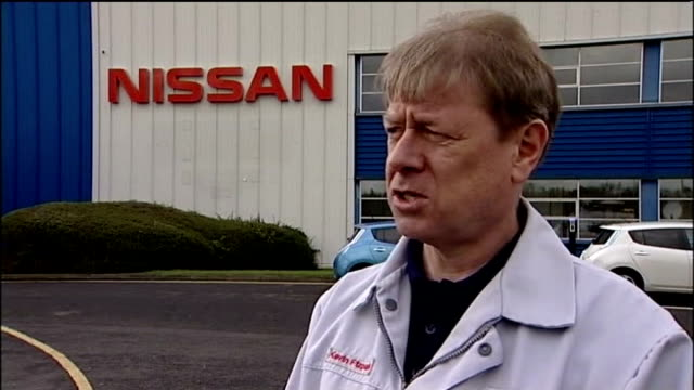 'Jobs Report' Nissan to build new hatchback at Sunderland / worry over lack of skills EXT Kevin Fitzpatrick interview SOT talks of skills at plant