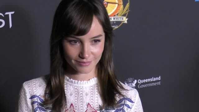jocelin donahue at the screamfest opening night - premiere of 'dead ant' at tcl chinese theatre on october 10, 2017 in hollywood, california. - tcl chinese theatre stock-videos und b-roll-filmmaterial