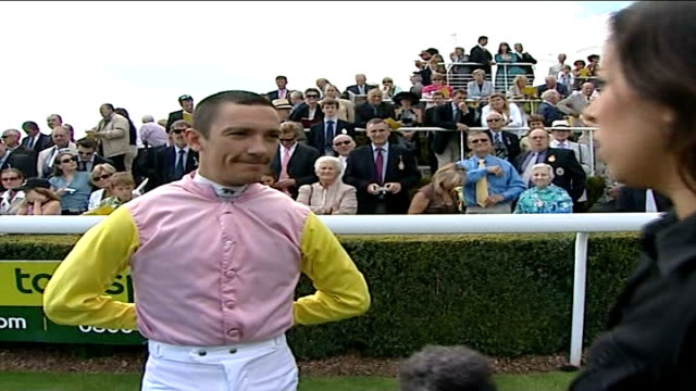 jockey frankie dettori's house burgled dettori interview england goodwood ext frankie dettori interview sot no sign last time i've seen tham was two... - goodwood house stock videos & royalty-free footage