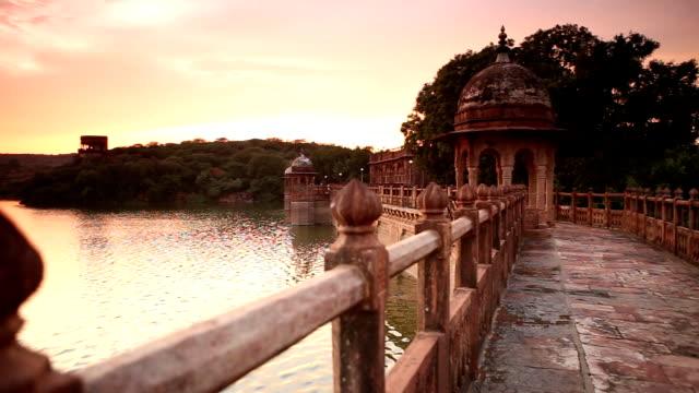 Jodhpur Bal Samand See Sonnenuntergang