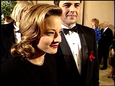 Jodie Foster at the 1993 Golden Globe Awards at the Beverly Hilton in Beverly Hills California on January 23 1993