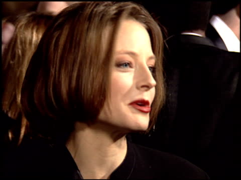 Jodie Foster at the 1995 Golden Globe Awards at the Beverly Hilton in Beverly Hills California on January 21 1995