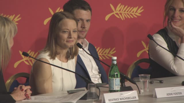 INTERVIEW Jodie Foster on being at Cannes Film Festival with Taxi Driver and what it's like to be back in 2016 at 'Money Monster' press conference at...