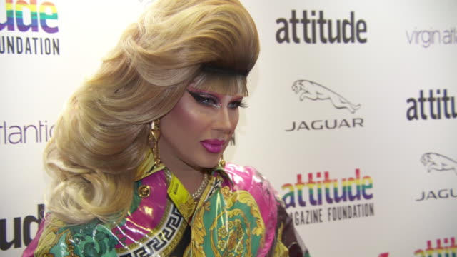jodie harsh at virgin atlantic attitude awards powered by jaguar 2019 at the roundhouse camden at the roundhouse on october 9, 2019 in london,... - attitude stock videos & royalty-free footage