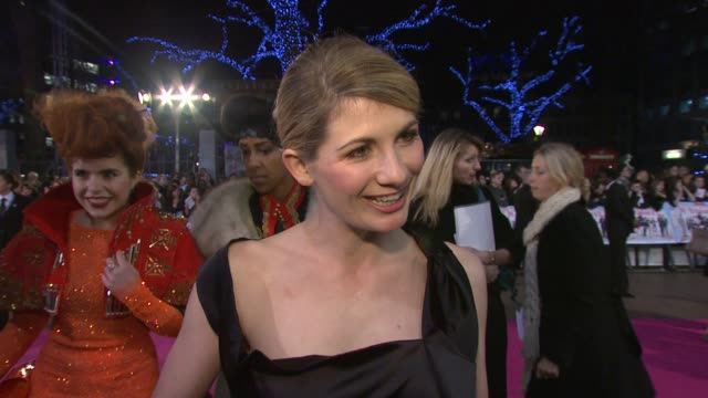jodie whittaker on her character, on what audiences can expect from the film, on being a 'mosher' when she was at school, on filming cranford next... - インタビュー素材点の映像素材/bロール