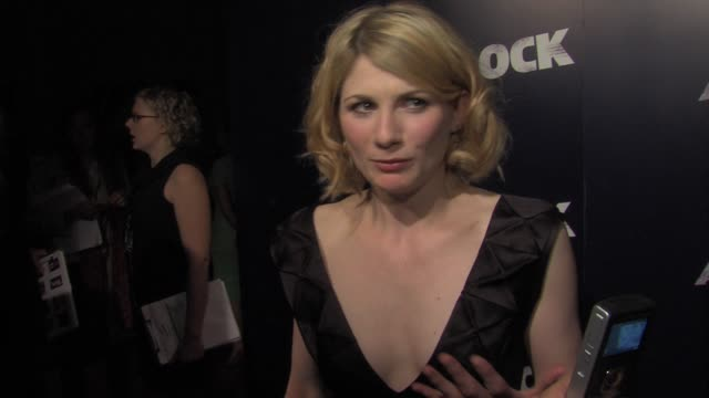 jodie whittaker on the films genre, her co-stars, joe and more at the attack the block world premiere at london england. - インタビュー素材点の映像素材/bロール