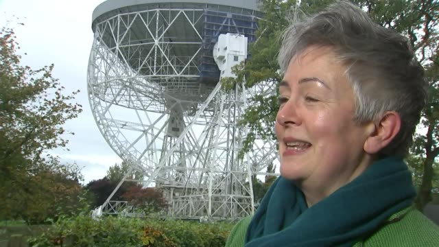 vidéos et rushes de jodrell bank observatory aims to join unesco world heritage list; professor teresa anderson interview sot - unesco