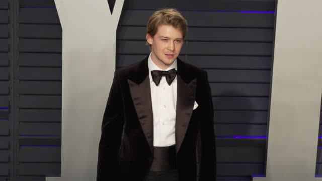 Joe Alwyn at 2019 Vanity Fair Oscar Party Hosted By Radhika Jones at Wallis Annenberg Center for the Performing Arts on February 24 2019 in Beverly...