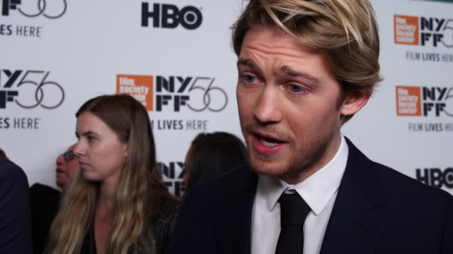 INTERVIEW Joe Alwyn on the plot and his character in the movie at The Favourite New York Premiere NYFF56 Opening Night Gala Presentation Presented By...