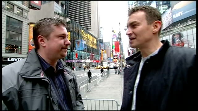 preview england london gir int bunce interview sot calzaghe more worried about this fight than questions of his retirement usa new york city ext... - croft stock videos & royalty-free footage