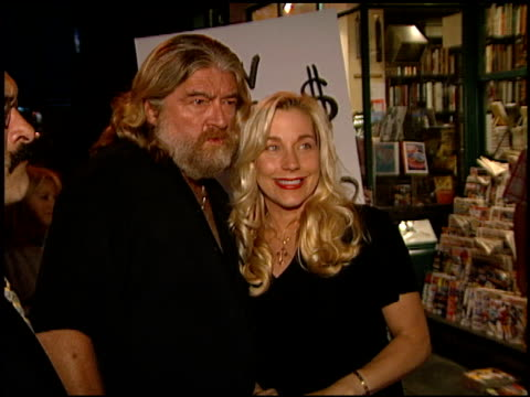 joe eszterhas at the book signing by joe eszterhas at book soup in west hollywood california on august 31 2000 - book signing stock videos & royalty-free footage