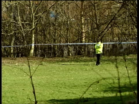 body found: schoolboy arrested; england: greater manchester: bury: ext area where body of a boy - suspected of being joe geeling - was found clean... - joe 03 stock videos & royalty-free footage