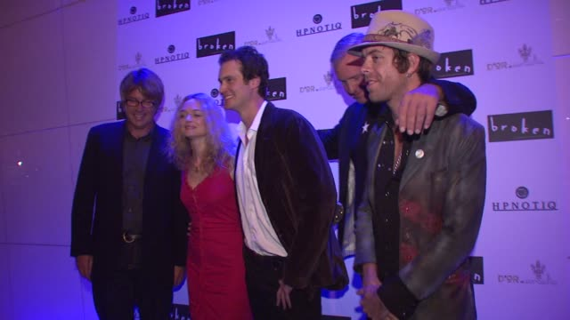 joe hursley allan white heather graham randall batinkoff and jerry wayne at the 'broken' premiere and after party at d'or at amalia in new york new... - dor stock videos & royalty-free footage