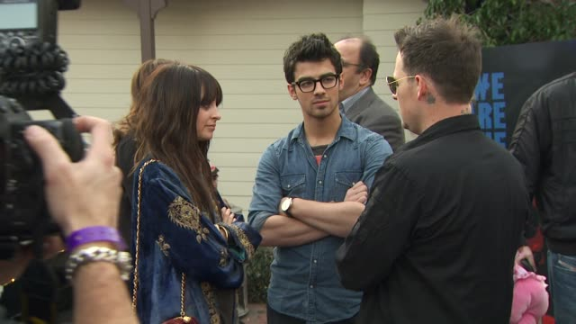 joe jonas at the we are the world 25th anniversary recording for haitian earthquake relief at los angeles ca - 25th anniversary stock videos and b-roll footage