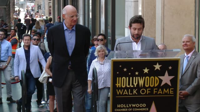 joe lewis on jeffrey tambor at the jeffrey tambor star on the hollywood walk of fame on august 8, 2017 in hollywood, california. - jeffrey tambor stock videos & royalty-free footage